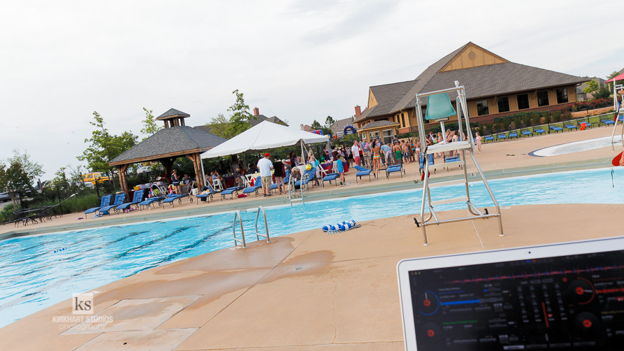 Edmond OK DJ Rose Creek Golf Club Pool Party